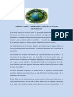 AMÉRICA LATINA Y LA IMPLEMENTACIÓN DE LAS NUEVAS TECNOLOGÍAS