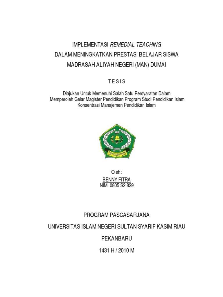 Contoh Tesis S2 Manajemen Pendidikan Contoh Soal Dan Materi Pelajaran 10