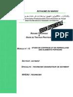 M13 - Etude de coffrage et de ferraillage des éléments porteur BTP-TDB