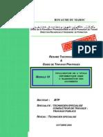 M19-Utilisation de l'outils informatique dans l'élaboration  BTP-TSCT