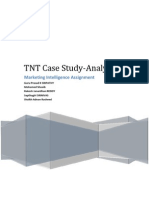 TNT Case Study _ Marketing Intelligence