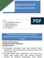 Pemahaman Struktur Pengendalian Intern