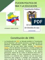 constitución y educación