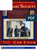 2012 Fall Seminary Society Newsletter Issue 3 FINAL PDF