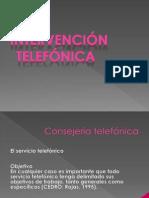 Intervencion en Crisis Por Llamada Telefonica