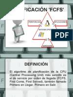 PLANIFICACIÓN FCFS