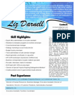 LIZ DARNELL - Resume & Recommendations