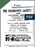 Civil War Recruiting Frankford