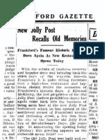 New Jolly Post