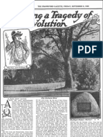 Recalling a Tragedy of the Revolution – Frankford Gazette