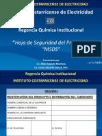 Hoja de Seguridad Del Producto (MSDS)