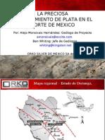 La Preciosa Un Yacimiento de Plata en El Norte de México