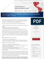 Marketing político en México_ qué hacer y qué no hacer en las redes sociales. -
