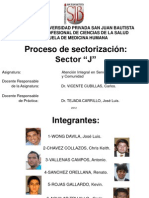 proceso de sectorizacion final