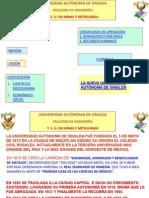 Plan de Estudios de Técnico Superior Universitario en Minas y Metalurgia