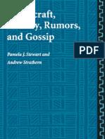 Witchcraft, sorcery, rumors and gossip - Stewart y Strathern
