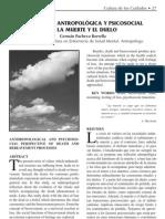 PERSPECTIVA ANTROPOLÓGICA Y PSICOSOCIAL DE LA MUERTE Y EL DUELO - Pacheco