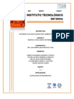 Unidad III Desarrollo de Aplicaciones Para Ambientes Distribuidos.