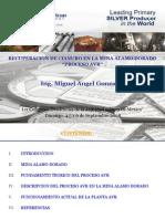 Recuperación de Cianuro Mediante El Proceso AVR