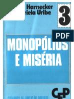 Cadernos de formação popular- MONOPÓLIOS E MISÉRIA (3)