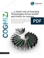 How Smart Use of Emerging Technologies Drives Growth and Profits for Insurers