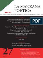 Revista LA MANZANA POÉTICA Nº 27, Digital