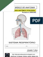 Apostila Anatomia - Sistema Respiratório
