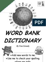 Tom's TEFL - KS1 Word Bank Dictionary