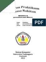 Budiman-K11110046-Laporan Tugas Praktikum Bahasa Rakitan-Modul 6-Procedure Dan Macro