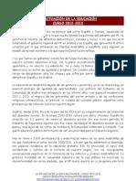 La situación de la educación - Curso 2012-2013