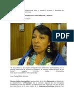 Conflicto e indígenas amazónicos