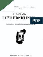 Friedrich Nölke, La evolución del universo [muestra]