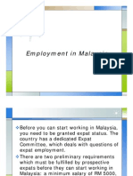 Employment in Malaysia