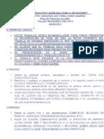 Taller Refuerzo Sociales 9- Juan Manuel
