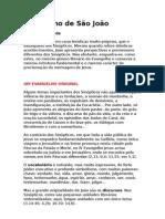 Evangelho de São João (analise)