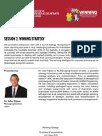 Winning StrategyJV Presentation Overview for Website