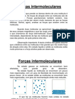 For+ºa intermoleculares