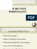The Big 5 Personality