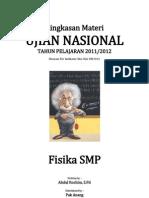 Ringkasan Materi UN IPA Fisika SMP 2012