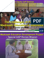 103421051 the Challenges of Funding Madrasah Education in Indonesia
