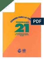 Cumpre para la Tierra, Programa 21