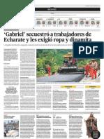 Gabriel Secuestra en Alto Piquaito