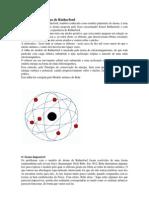 Modelo de um átomo de Rutherford