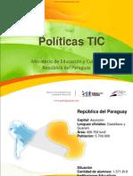 Politicas Tic - Mec - Ministerio de Educacion y Cultura - Republica Del Paraguay - Portalguarani