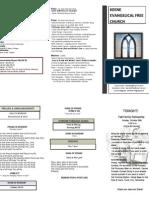 Church Bulletin- October 28