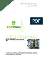 Manual de Procedimientos Del Dep Farmaceutcio Distrifarma - Copia