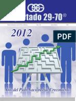 Plan Nacional de Desarrollo Sustentable 2012