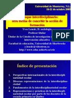 Monterrey Interdiscipl Esp