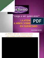 La atención a niños sobresalientes en Querétaro