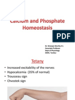 Calcium and Phosphate Homeosatsis